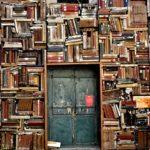 books, door, entrance
